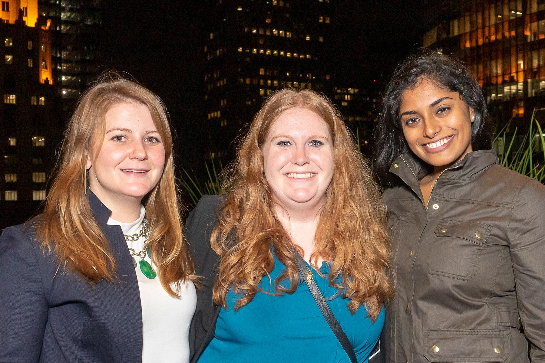 Katie Patterson, Hannah Curry-McDougald, Cheryl Joseph