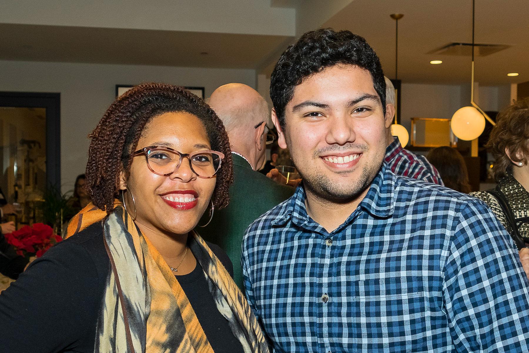 PH Board Member Kalinda Campbell, Erick Cano