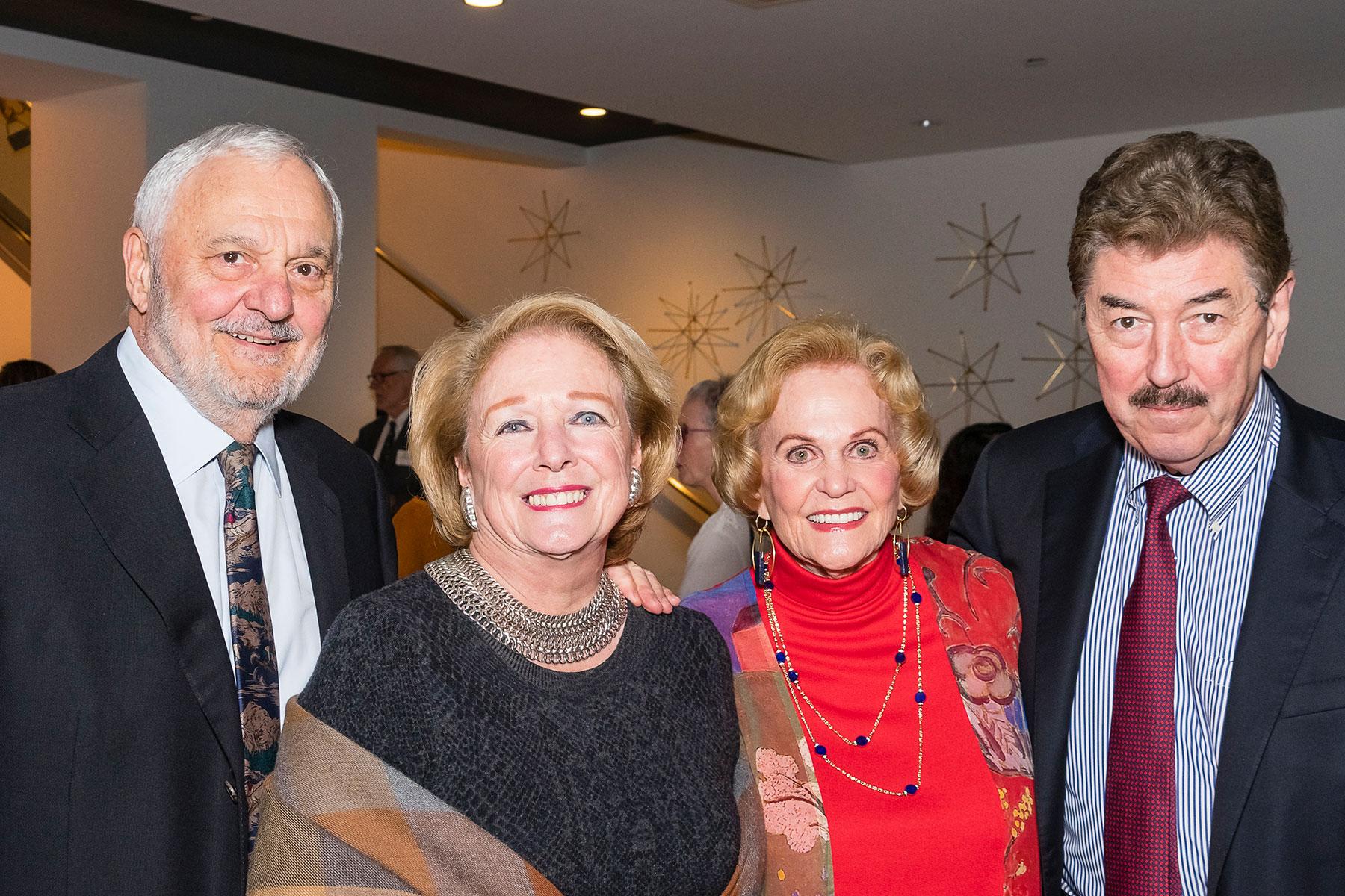 George and Eileen Hricik, Nancy Ames, Danny Ward