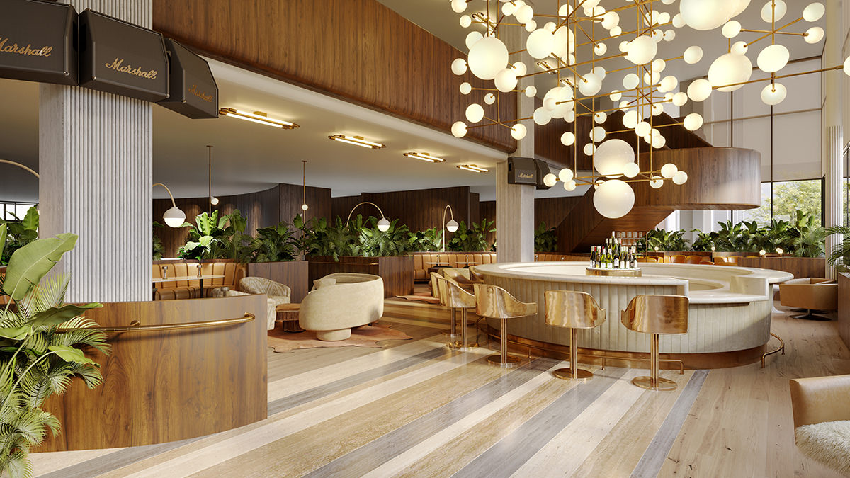 Lobby bar, C. Baldwin /  image courtesy of C. Baldwin