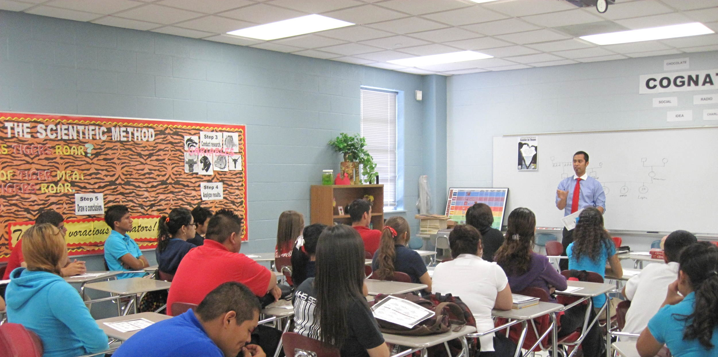 Psychology Guest Lecturer, Laredo, TX, USA, 2010