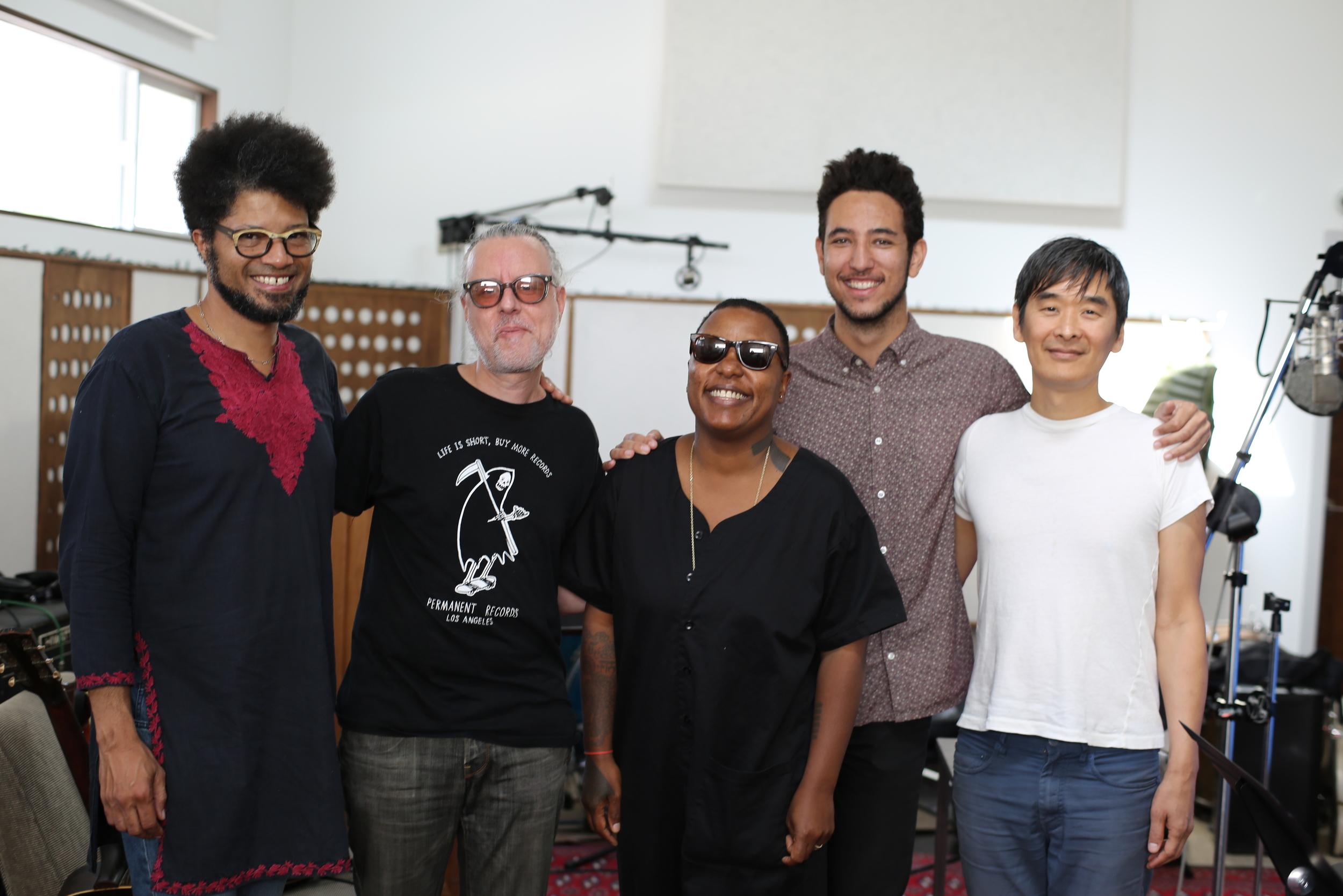 Meshell and the band .JPG