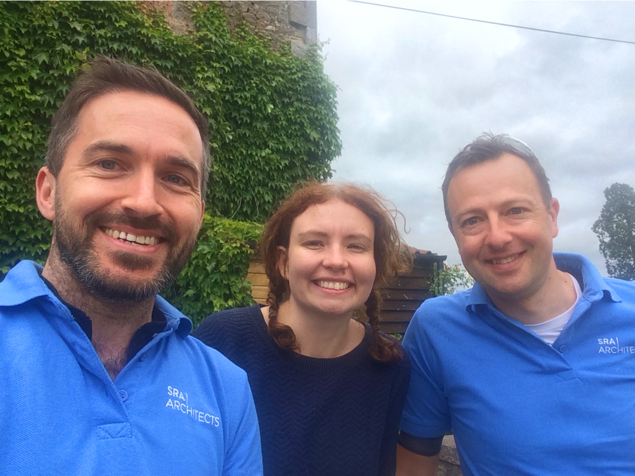 SRA Team (from left to right): Jonathan Crossley, Emma McDermott, Garry Davies