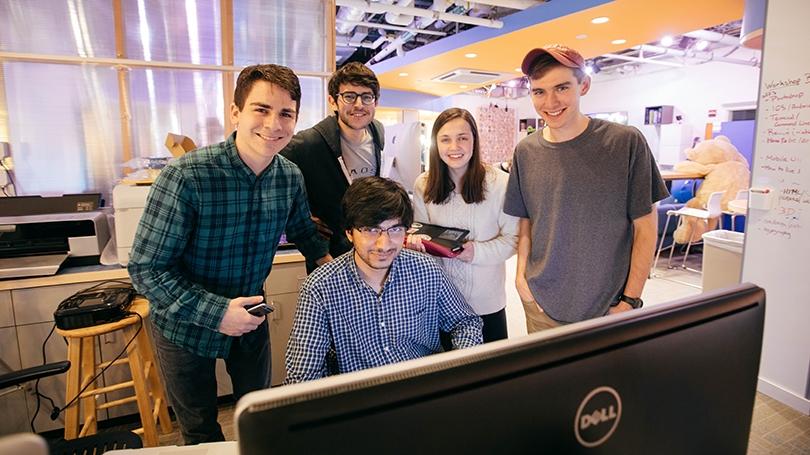 DALI Pulse team in 2017