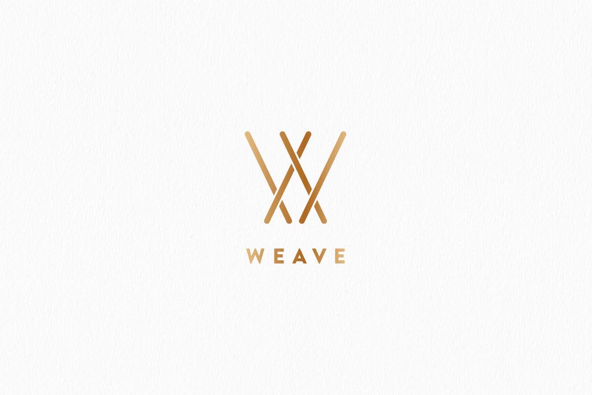 Logo &Identity design for Weave by Studio Mila
