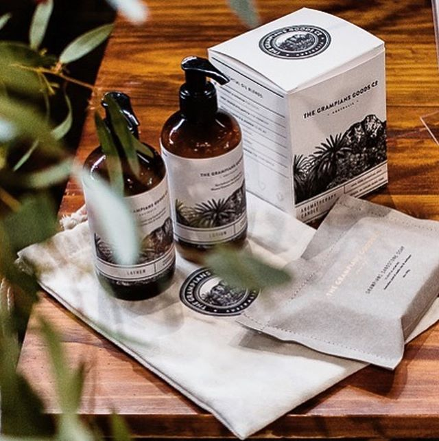 Beautiful range by The Grampians Goods Co. Rebrand & Packaging by us 🤗