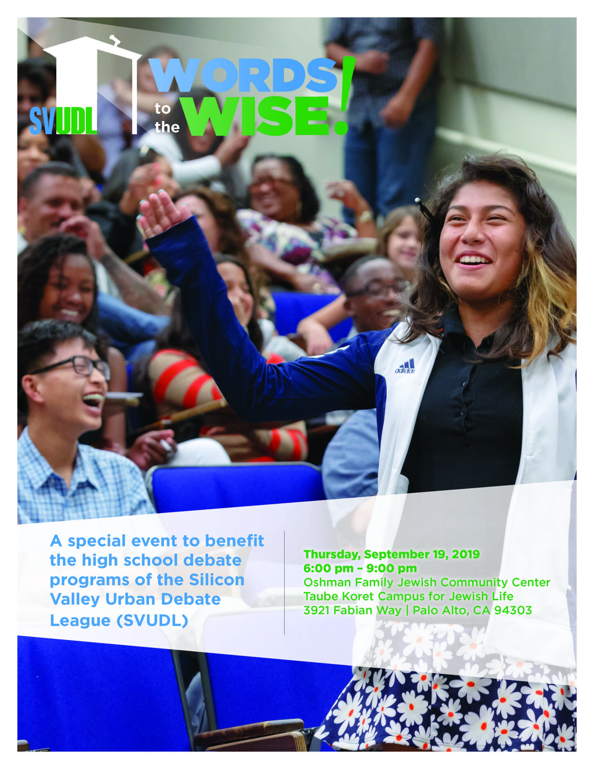 Support Our 2019 Words to the Wise Event! - Event Sponsorship and Individual Ticket Sales on sale now - click here to purchase