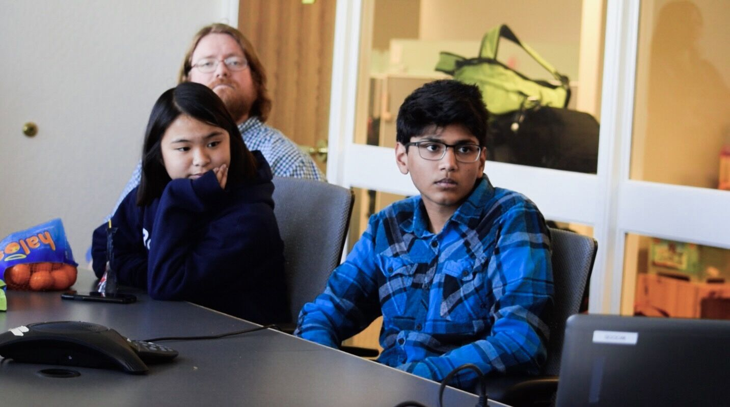 Students learn about the Law Foundation's mission and work in the community pertaining to issues around housing, mental health, and education issues in Silicon Valley.