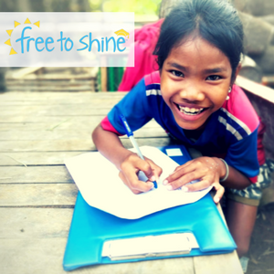 Free To Shine  are an independently-funded, nonprofit organisation founded in Australia, working to prevent sex trafficking in South East Asia.  Their work is child protection-focused, human rights-based, and designed to strengthen families & keep children in education.  They works with local authorities and communities in Cambodia to reach the most at-risk rural girls, reducing their vulnerability to trafficking by improving their access to education & providing them with social work support.