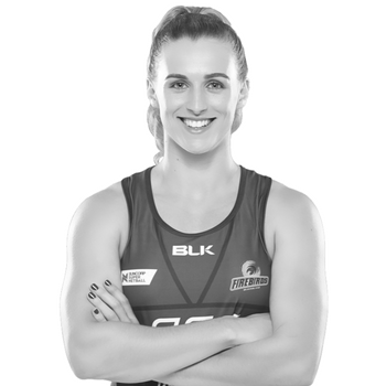 Gabi Simpson  has helped lead the Lorna Jane Queensland Firebirds to an unprecedented era of success since joining the club in 2013 – four years, four grand final appearances and two championship wins. Gabi is the current captain of the Queensland Firebirds, and vice-captain of the Australian Diamonds.  Revered by coaches and teammates for her game-changing skill and adored by supporters for her infectious energy, the three time Firebirds Fans' Player of the Year has established herself as the country's premier wing defence.  The Sydney-native cemented her spot in Firebirds folklore with a legendary double extra time intercept in the 2016 ANZ Championship Grand Final. The grab set teammate Romelda Aiken up to ice the game and bag Queensland a historic back-to-back championship win.