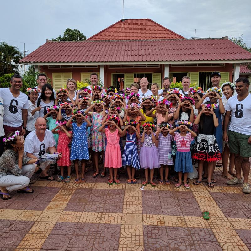 AFESIP Cambodia visit 2017 with Konica Minolta