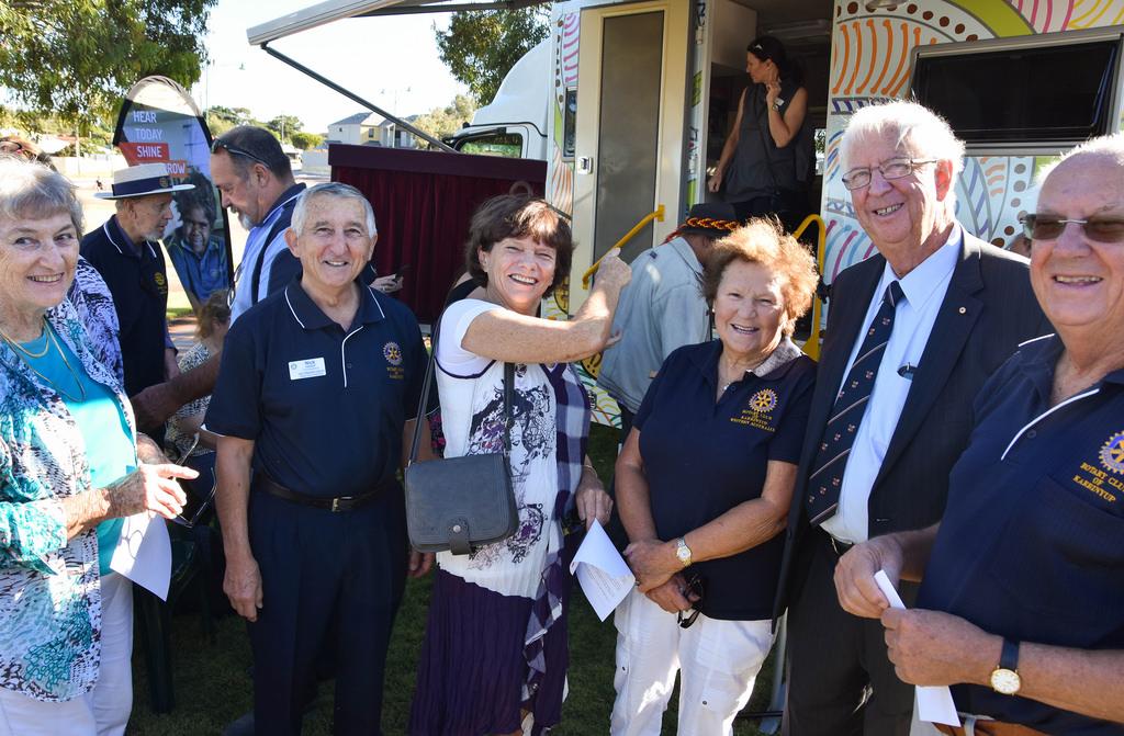 Rotary Earbus Launch, Photo's Courtesy of Ian Henderson