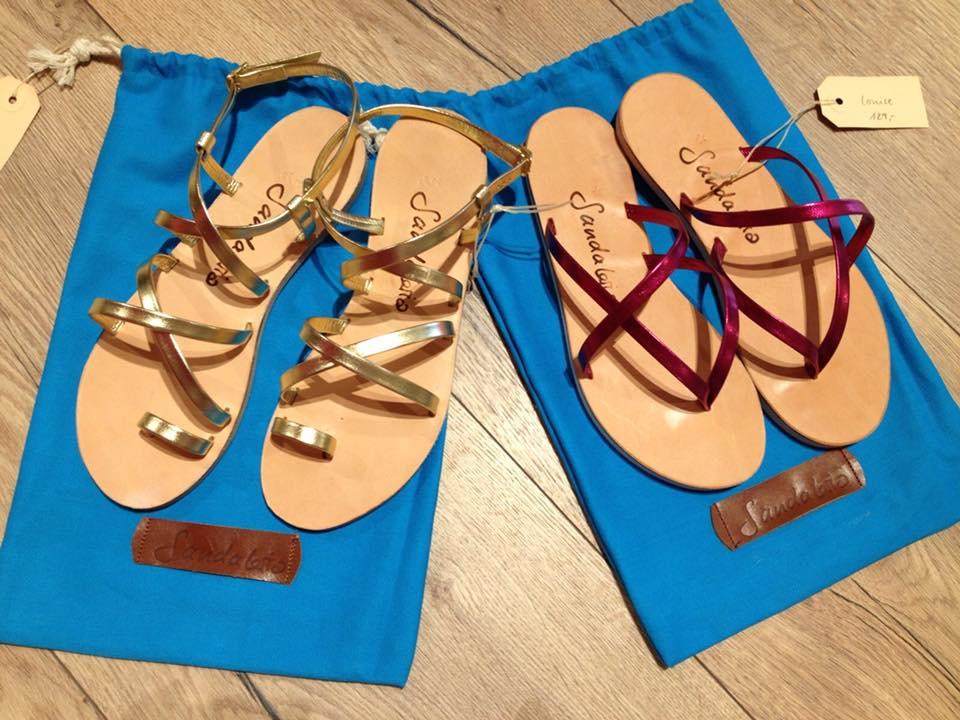 26.05.18 ab 12:00 bei uns zu Gast - Miriam de Caro von der Lederwerkstatt mit ihrer Sandaleria Kollektion - Wählt eure Lieblingsfarbe und sie verpasst den Finish. Auch bei den Portemonnaies dürft ihr mitreden. Also vorbei kommen und Farbe bekennen.
