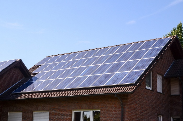 Residential systems are the simplest type of system designed for home use. They are mounted on flat or inclined roof and supply power to the household. These are the smallest systems available and can range from 1 KW to 10s of KW for larger houses. They usually include a few panels, an aluminum structure and a single three phase or single phase inverter.