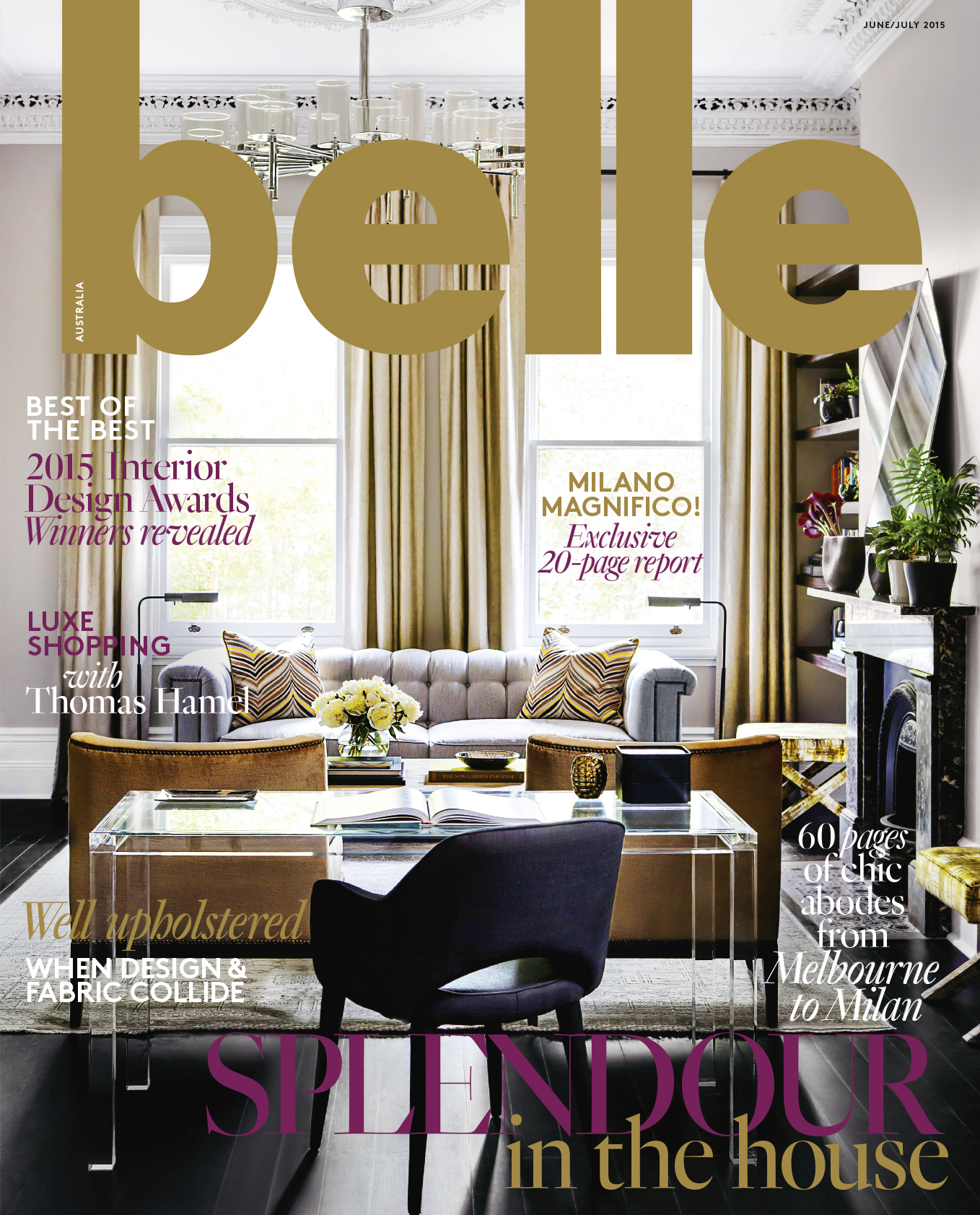 Belle Magazine 2015 - Milan Report