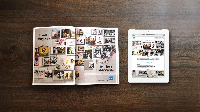 Blurb Wedding Books Campaign