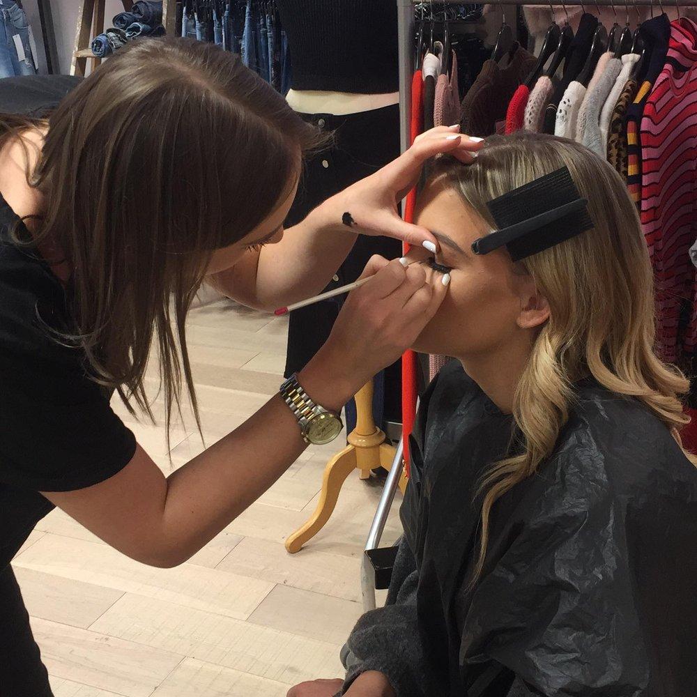 Lucy Blake Makeup