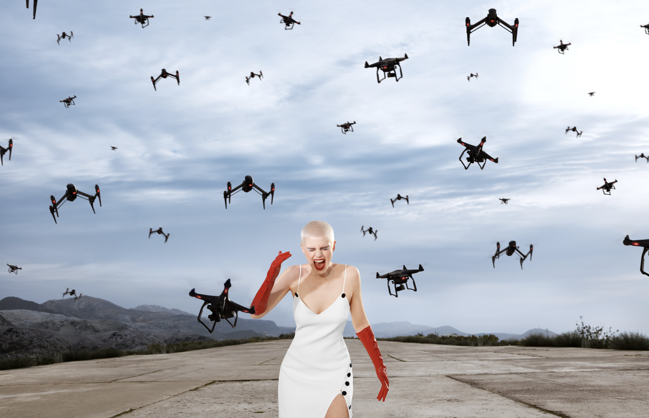 'The Drones' Editorial for Plastik Magazine