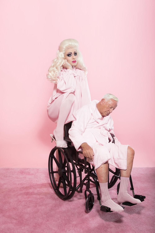 """My heart belongs to Daddy"" ft. Katya Zamolodchikova Editorial for Plastik"
