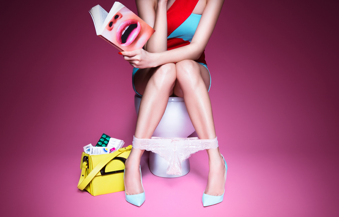LADY IN THE LOO Editorial for PLASTIK 2015