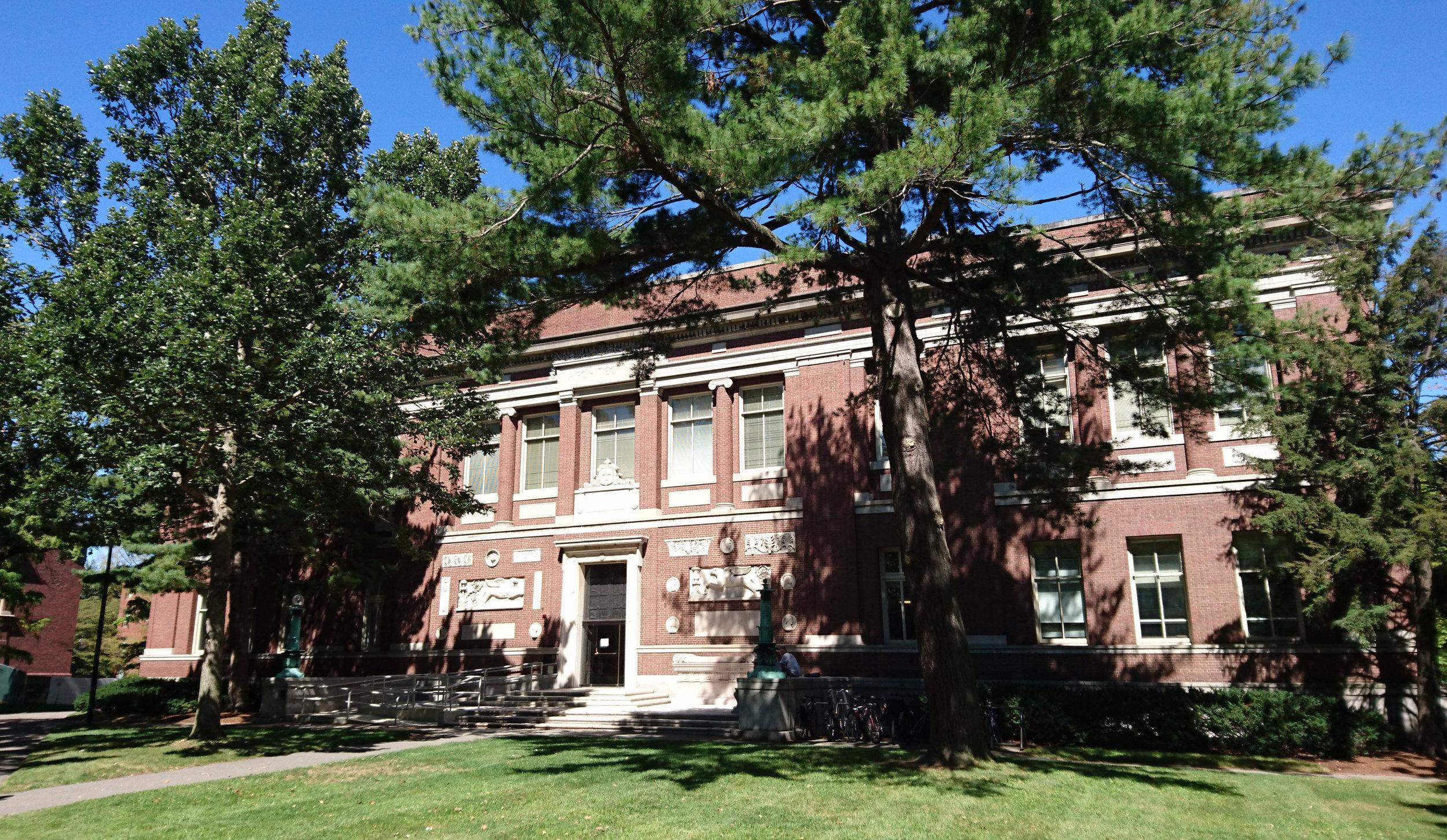 Robinson Hall, Harvard