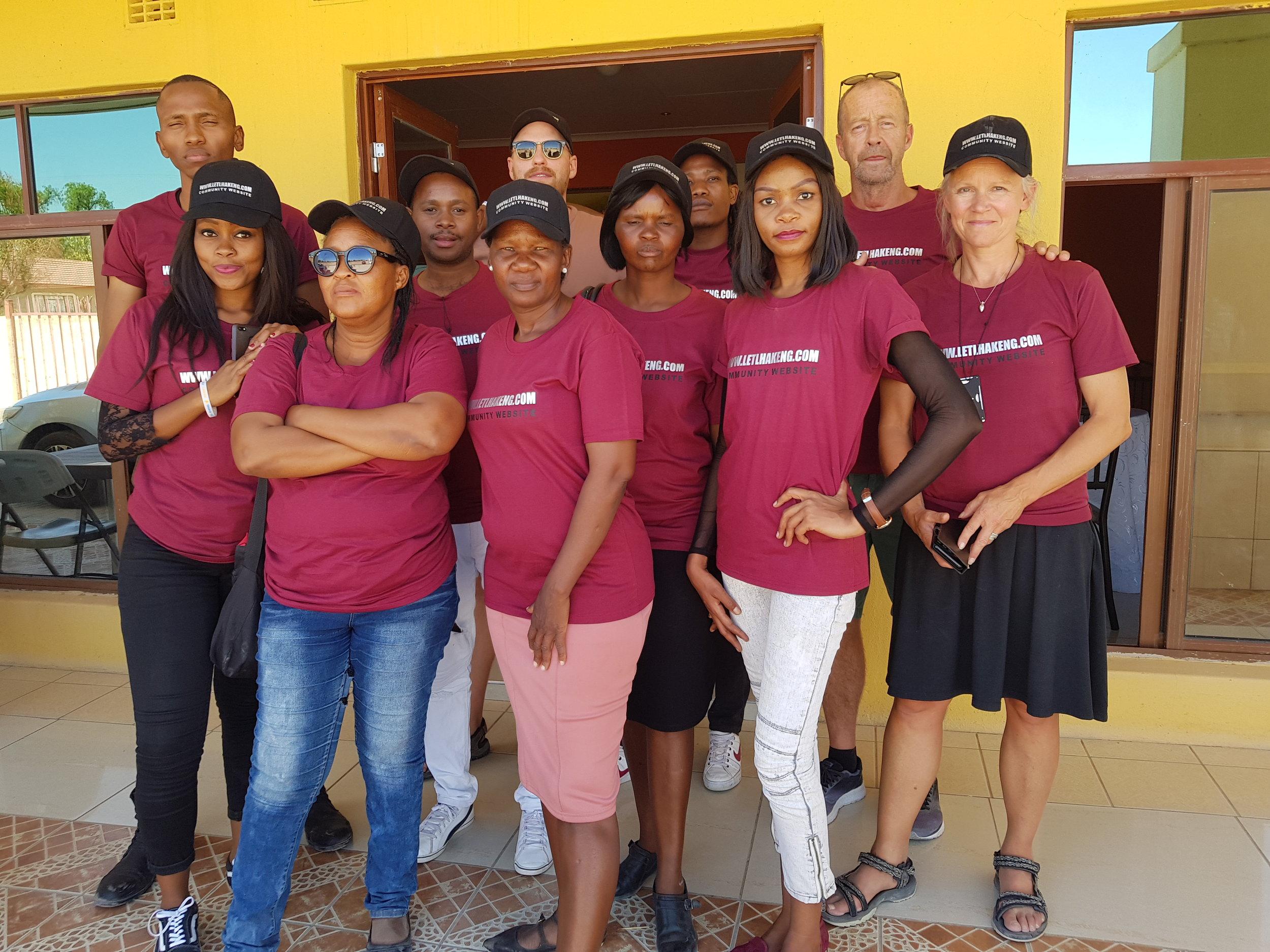 - The www.letlhakeng.com team!