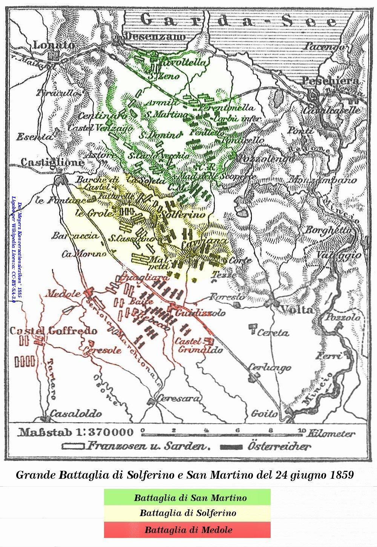 Battaglia di Solferino e San Martino. From  Wikipedia .