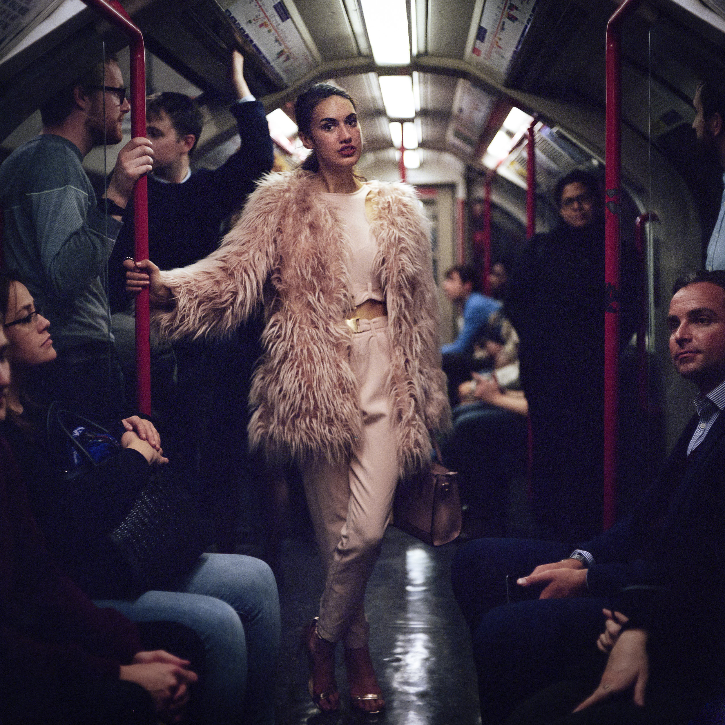 I'm donating a print of this image from my Night Tube series to the Photo Kindness Project