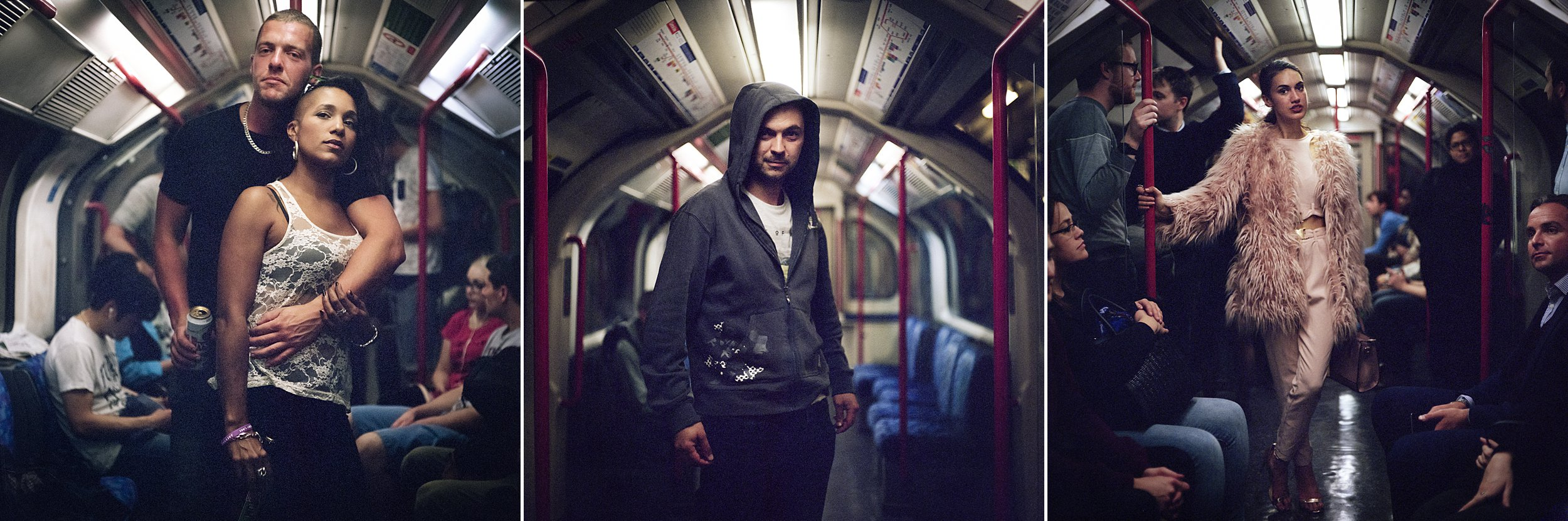 From the Night Tube series… I promise I won't make you look this serious.