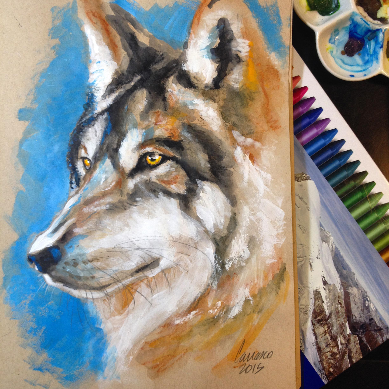 Neocolor II wolf...