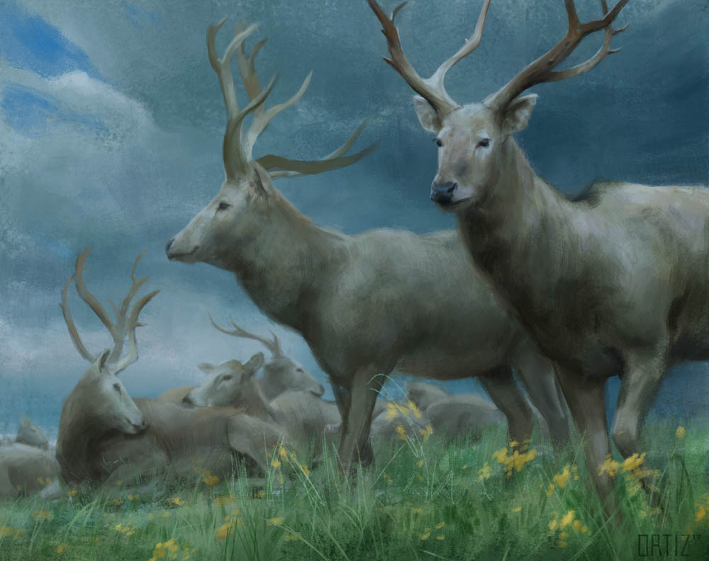 """The Herd"" by  Karla Ortiz  (digital)"