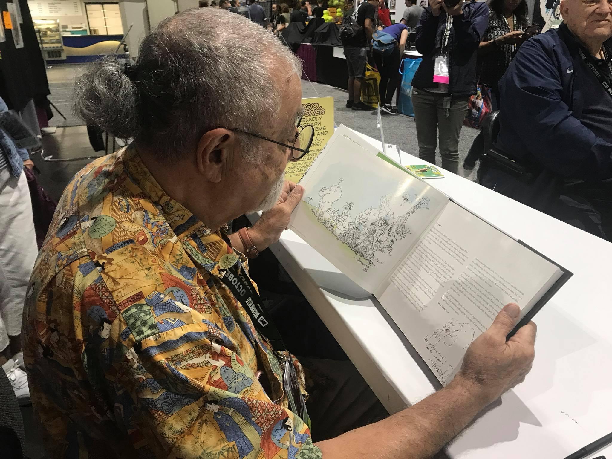 Forward author Sergio Aragones