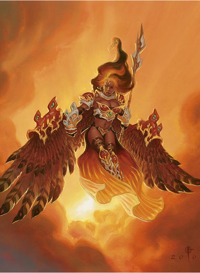 """Akroma, Angel of Fury"""