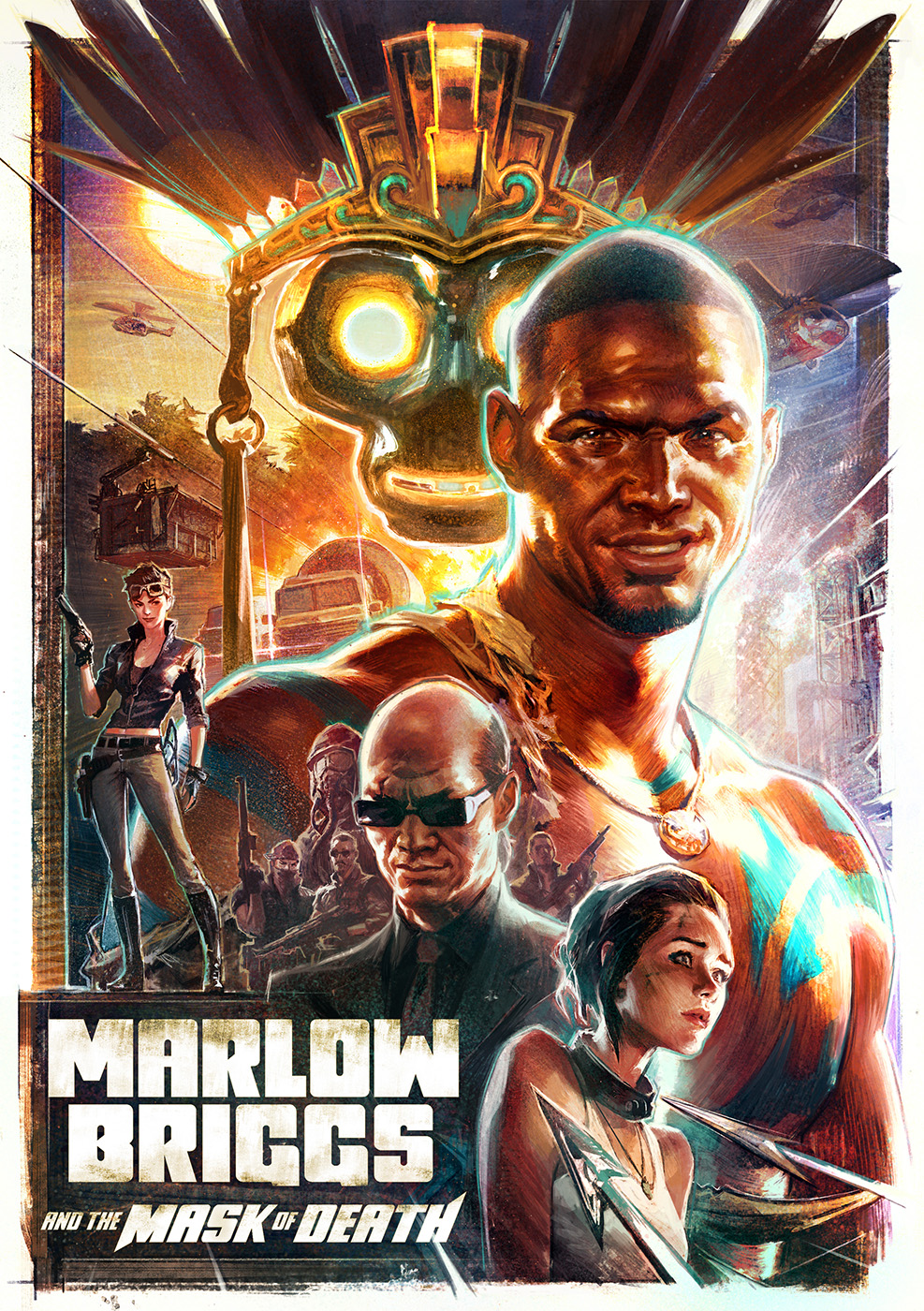 """Marlow Briggs and the Mask of Death"""