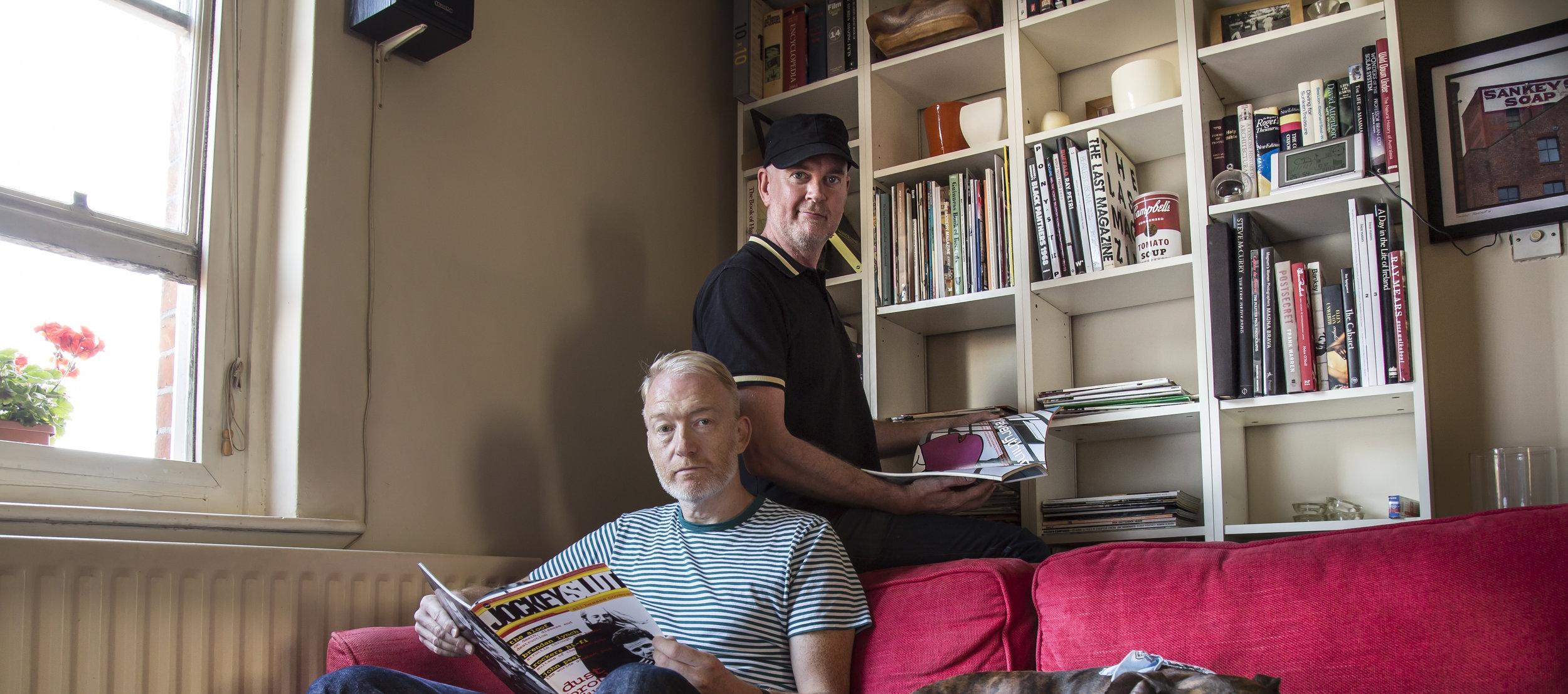 Paul Benney and Johnno Burgess, Jockey Slut. (Photography: Rob Greig)