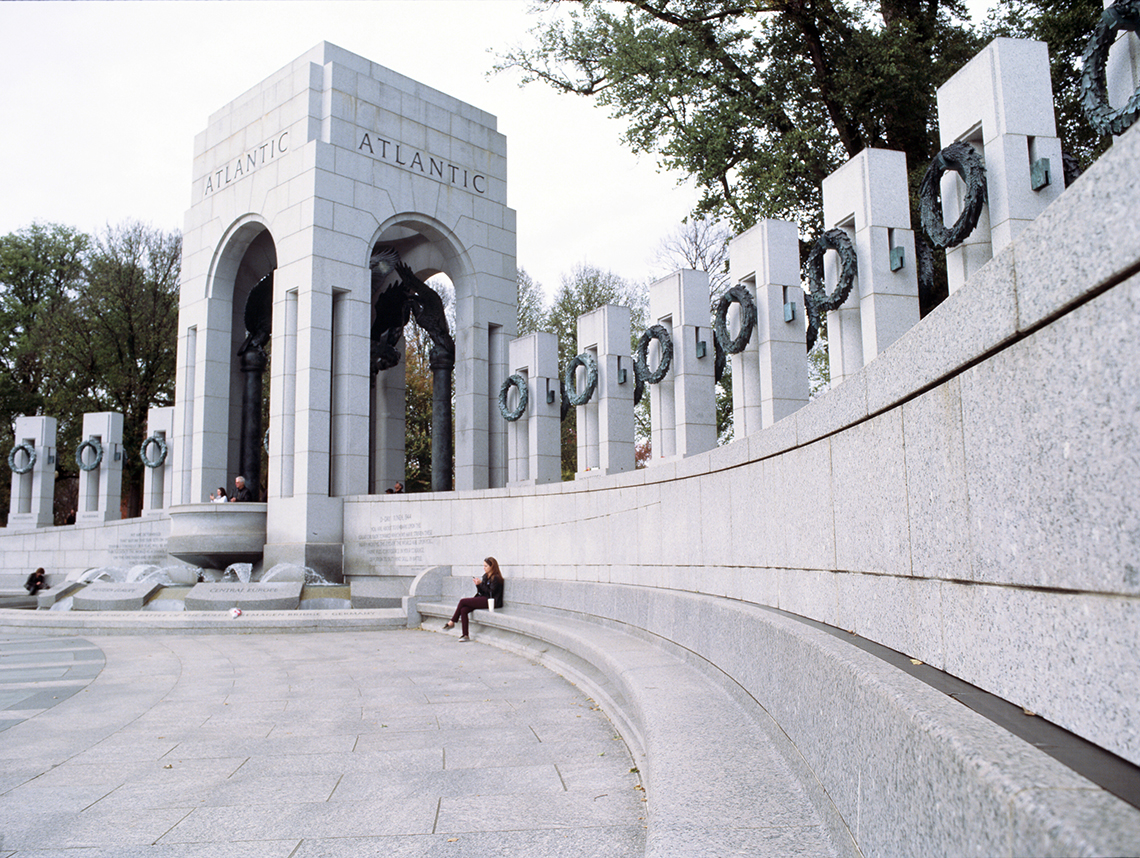 World War II Memorial, 2013