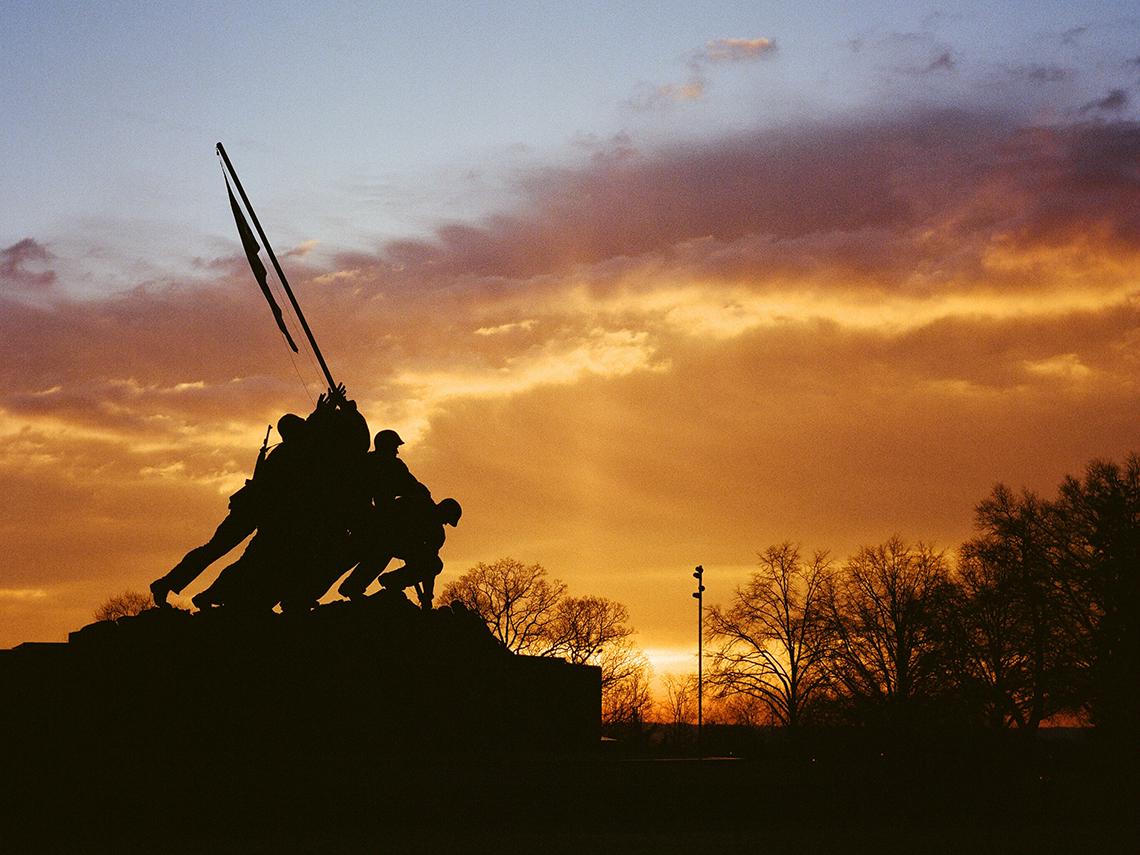 U. S. Marine Corps War Memorial, 2011