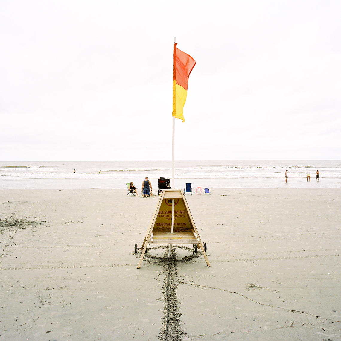 Flag, Folly Beach, SC, 2014