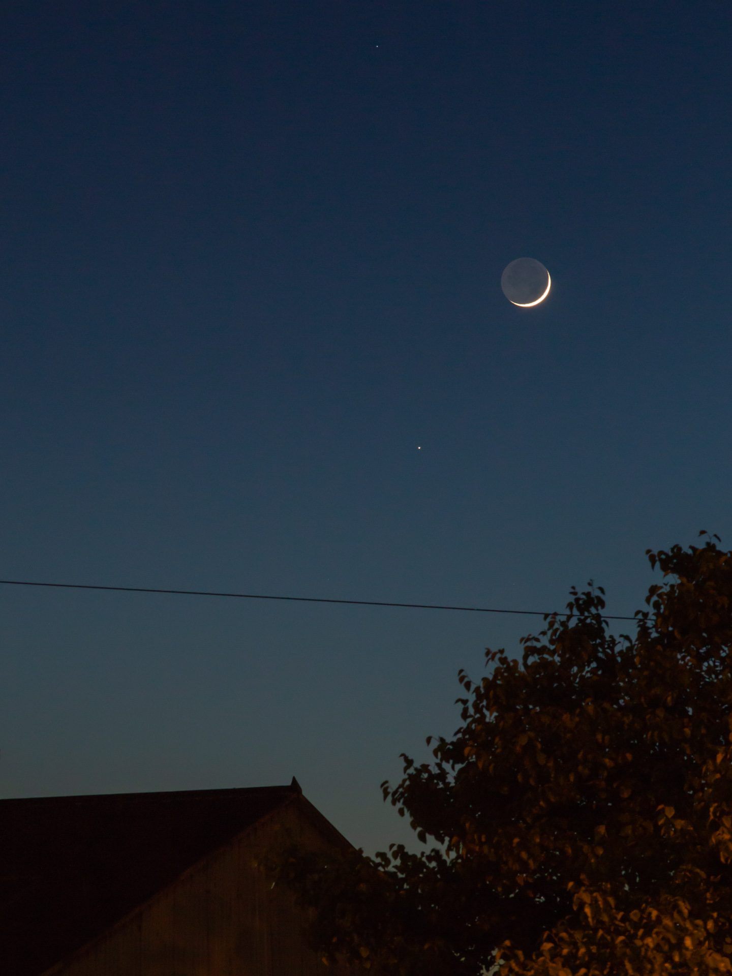 Waxing Crescent Moon* | 20190506 2057 W:38.96x77.00@77m