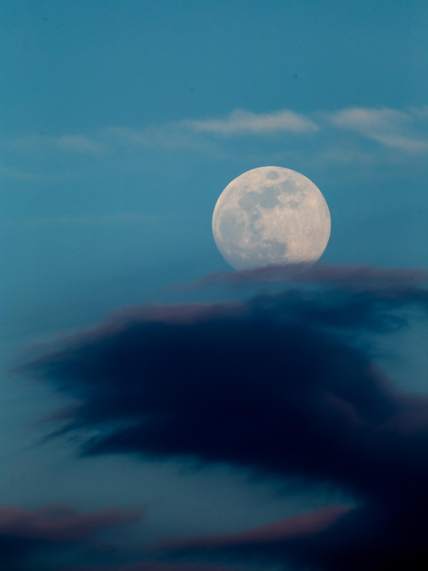 Moon Rise | 20190517 1945 E:38.96x77.00@84m