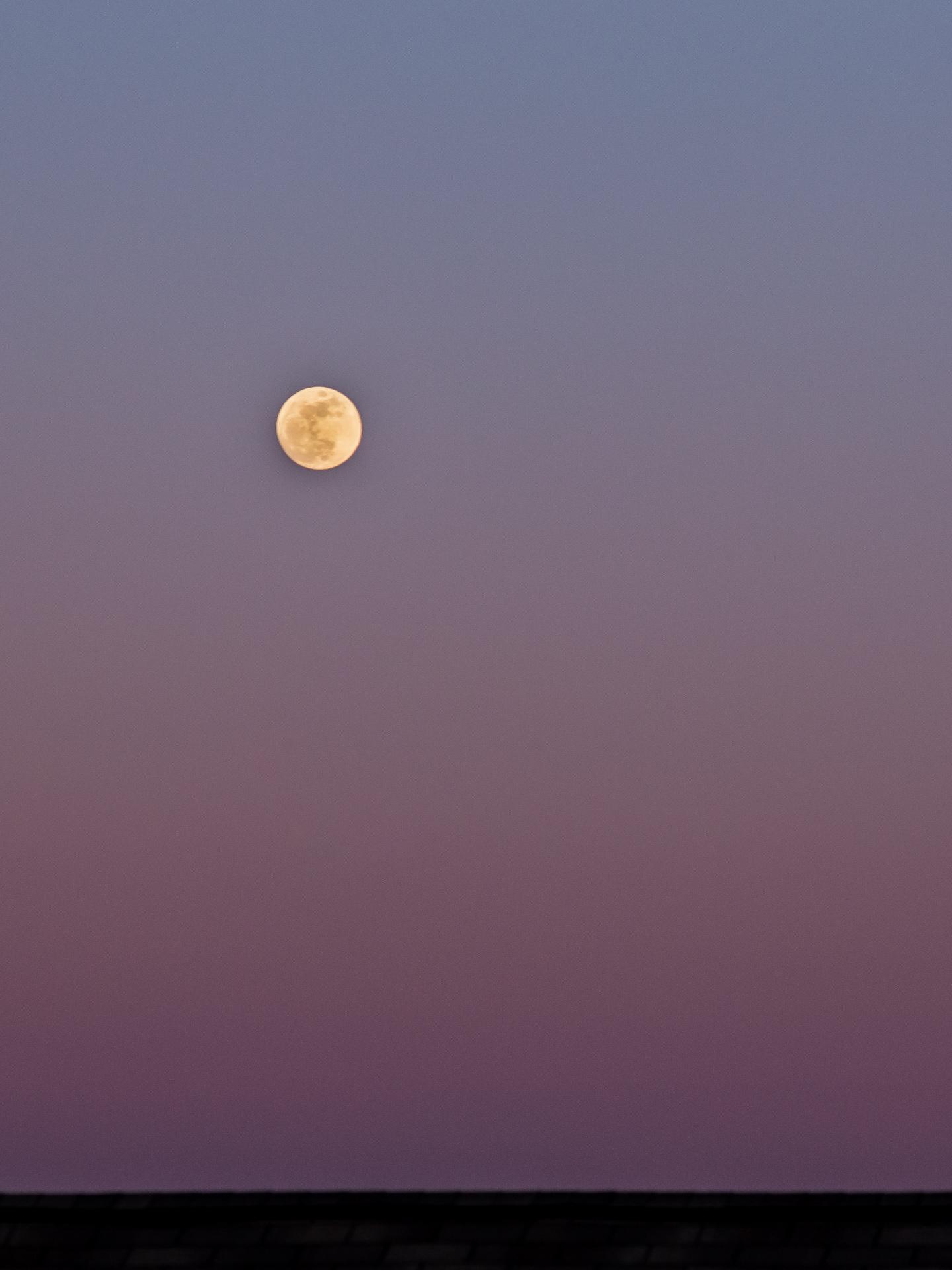 Nearly Full Moon* | 20180130 1806 E:38.96x77.00@84m