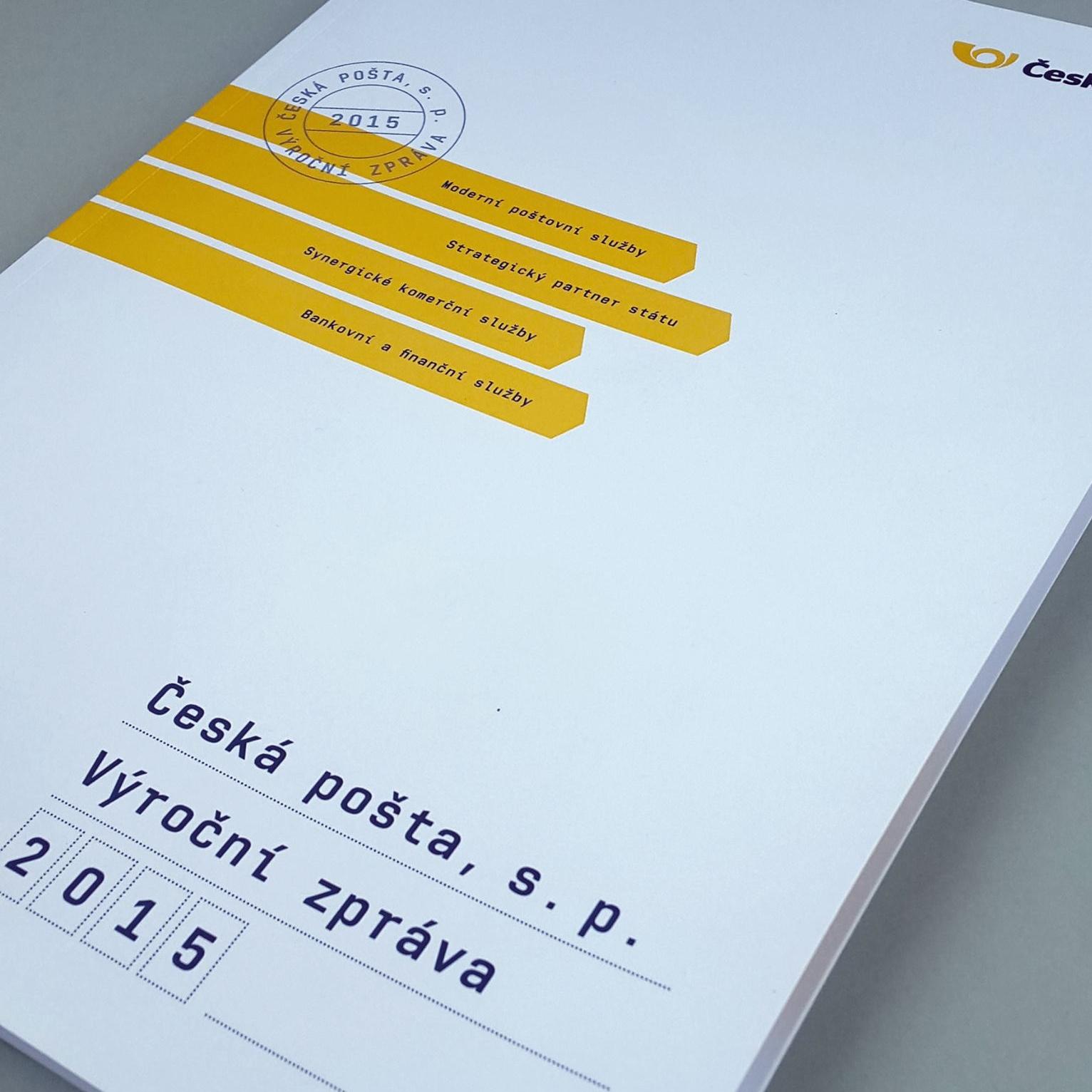 Česká pošta   annual report