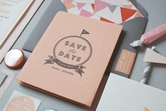 Design by Inclosed Studio image via Oh So Beautiful Paper