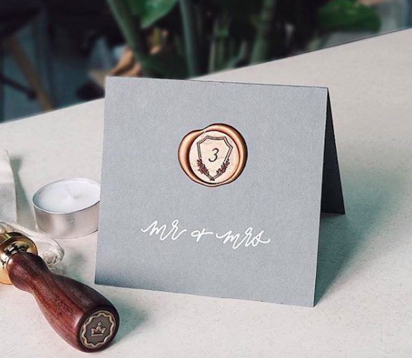 Wax Seal Design by Ettie Kim | Photo c/o Stamptitude