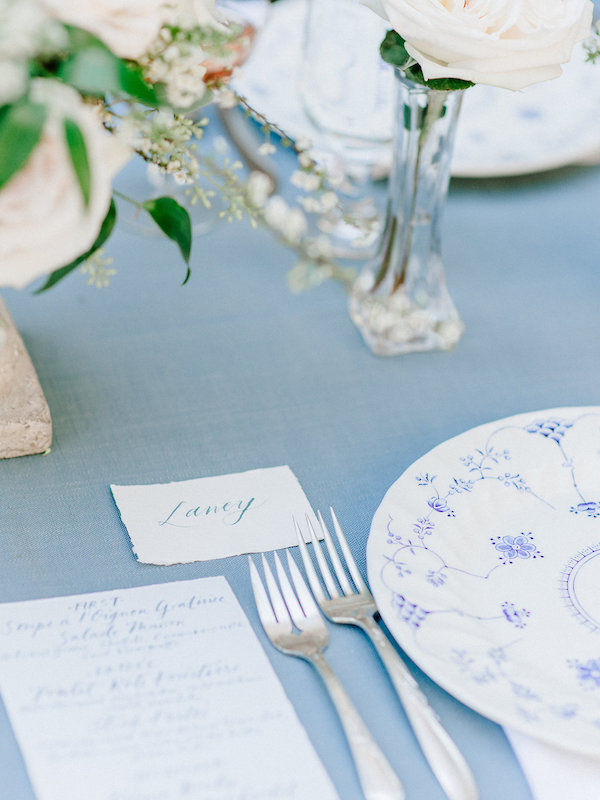 Calligraphy by Four Hats Press | Photo by Nicole Jansma Photography