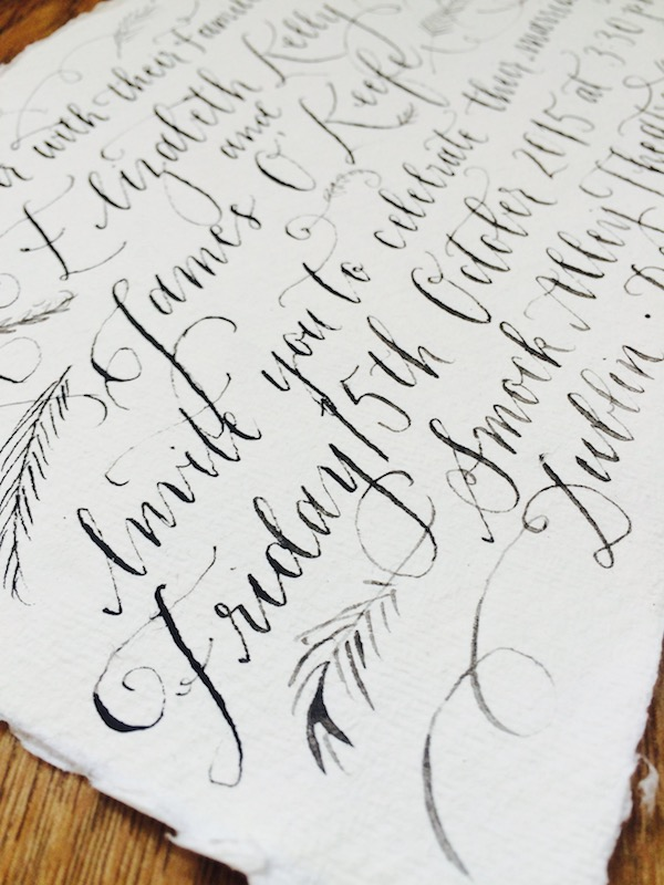 Calligraphy by Four Hats Press