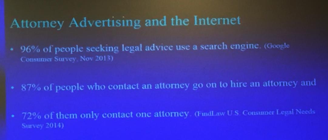 Attorney Advertising - via SBOT Advertising Review Director, Gene Major