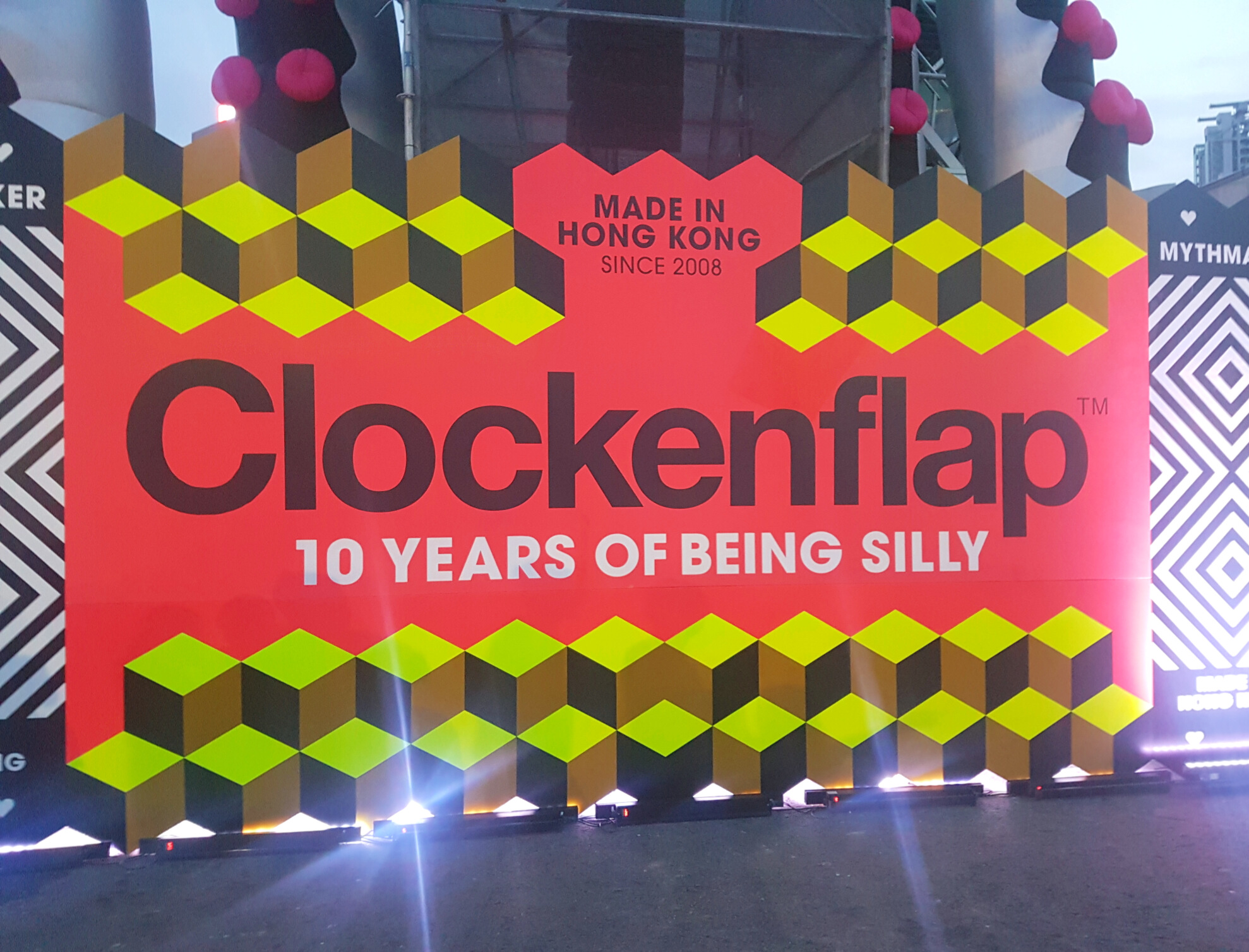 This year was 10th birthday of Clockenflap!