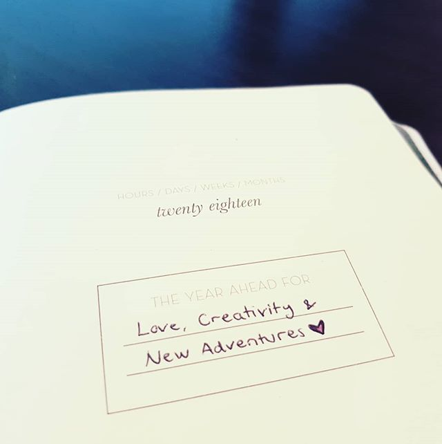 In January I wrote a few words on my new glittery unicorn calendar that I found in a small bookshop in Brisbane. 🦄 Dear 2018, I like you already. 🧡💎