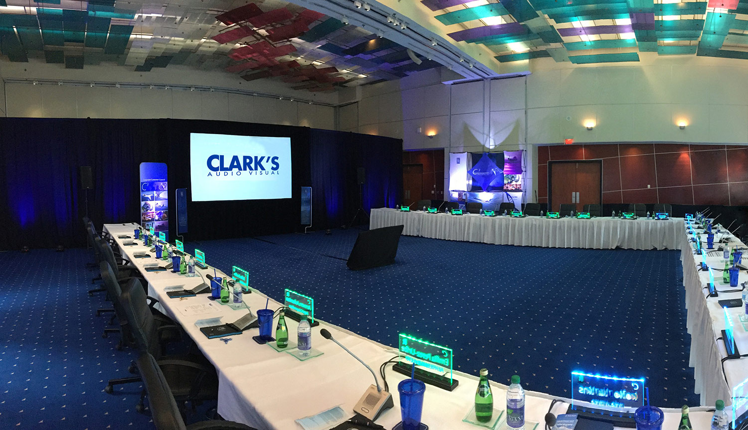 Clark's Audio Visual Equipment Services